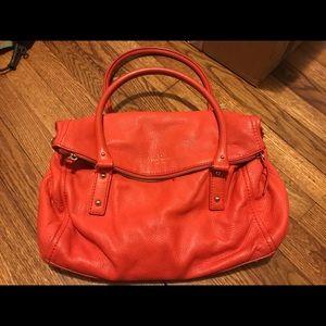 Large Kate Spade bag - Coral Red